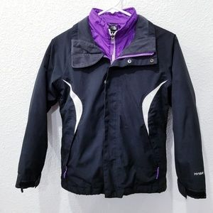 2 in 1 The North Face Girls M Hyvent Jacket black